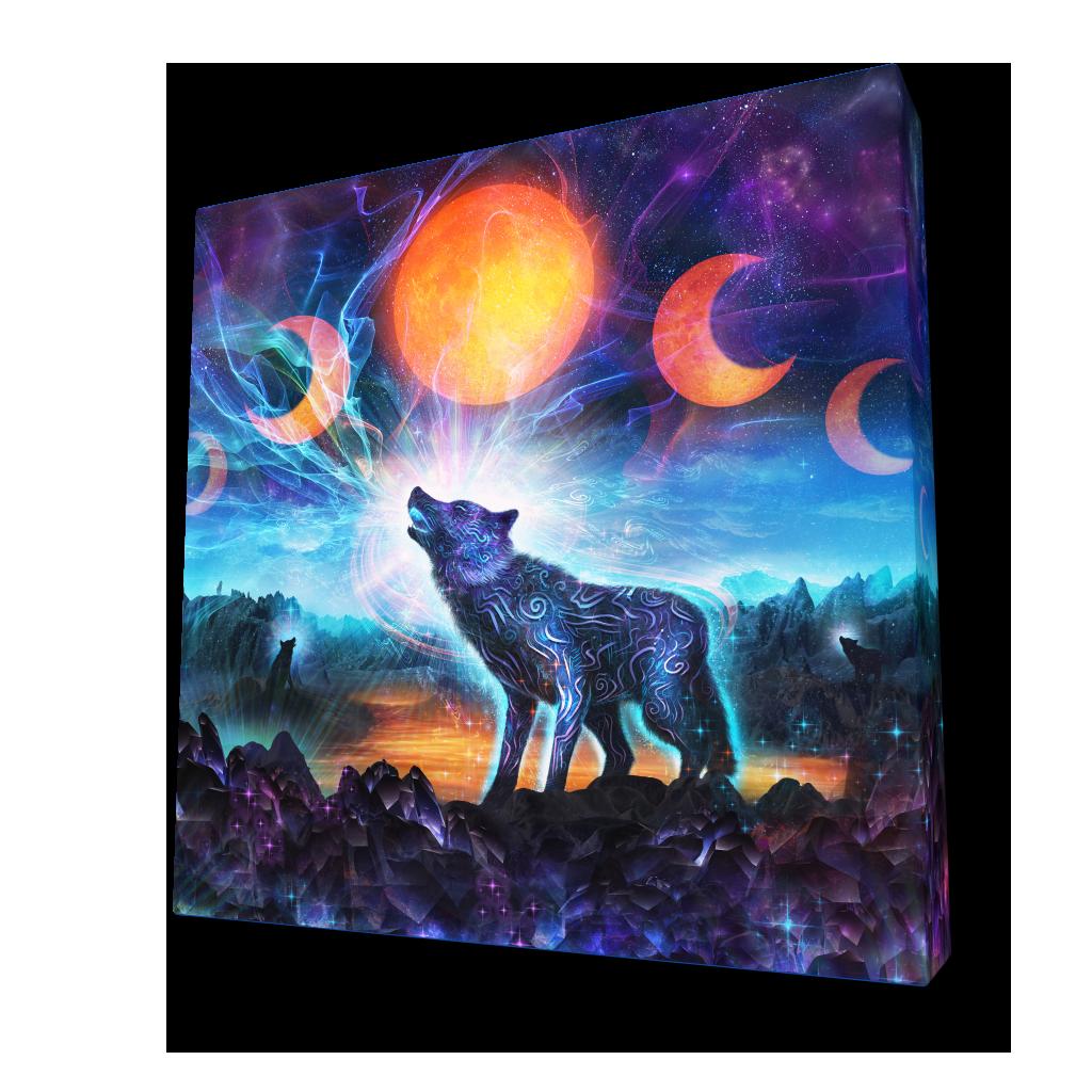 Quot The Magic Howl Quot By Louis Dyer 224 Square Acoustic Panel